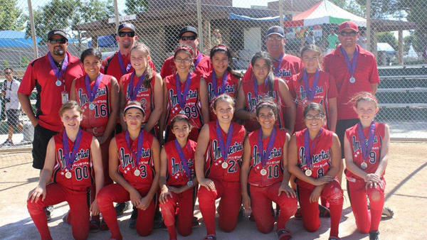 The Imperial 12-and-under All-Star squad finished second at the 2012 SoCal ASA Girls State Championship in Lancaster July 13-15.