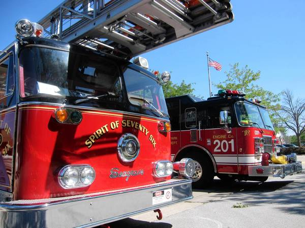 The Village Board recently agreed to purchase a ladder truck for the fire department for $850,000, but thanks to the Tinley Park Fire Department Association, only half of the funds will come from village tax coffers.