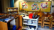 Photo Gallery: Middle School library flooded