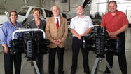 Aircraft engines donated to Hagerstown campus of aeronautics school