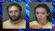 A Bloomington, Ind. couple was arrested Monday, after police said they purchased and shipped 13 grams of illegal bath salts to themselves from Texas.