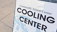 Baltimore City Health Department will open emergency cooling centers Thursday offering free water and cool air.