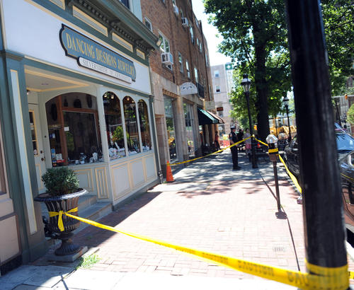 Two men, armed with handguns, robbed Dancing Designs Jewelry store on Main Street in Bethlehem Wednesday afternoon, police said. No one was injured in the 12:30 p.m. heist at Dancing Designs Jewelry, 512 Main St., Bethlehem police said.