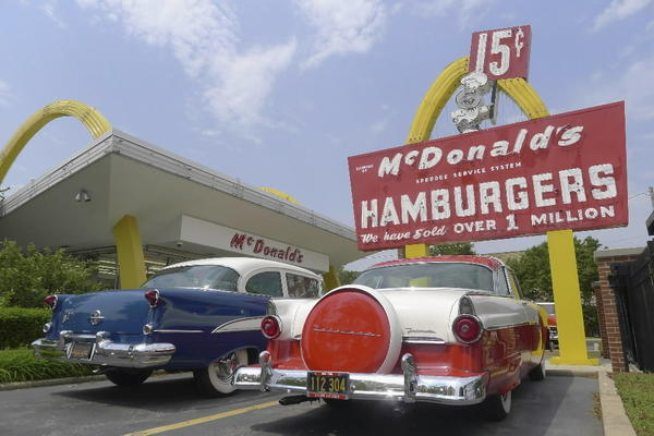 "The nostalgia factor is off the charts at this golden-arches time capsule. The museum is a re-creation of the first restaurant opened by McDonald's Corp. founder Ray Kroc in Des Plaines on April 15, 1955. The original building, demolished in 1984, was rebuilt to original blueprint specifications. It's a testament to humble beginnings. The original iconic ""Speedee"" road sign out front proclaims, ""Over one million served."" Inside the building, two male mannequins (in its day, eight-to-10 employees worked the floor) are poised to take an order. The original 10-item menu is a Ron Swanson fever dream: Burgers, fries, milkshakes and soft drinks. Look closely to see the peelers used on fresh potatoes that were sliced into fries on the premises. ""People bring their children and grandchildren here and tell them, 'This is how McDonalds was when I was growing up,'"" said Mike Bullington, company historian and archivist. You want fries with that? There's a thoroughly modern McDonald's across the street. It also offers salads. <br><br><b> Open 10:30 a.m.-2 p.m. Thursday and Friday, until 4 p.m. Saturday, though Labor Day; 400 N. Lee St., Des Plaines; free, 847-297-5022 and aboutmcdonalds.com"