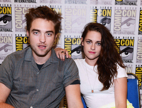 Robert Pattinson and Kristen Stewart in happier times (aka: two weeks ago).