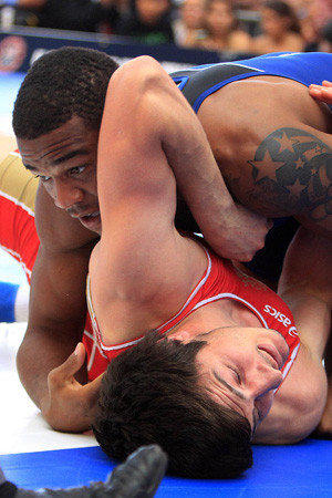 Olympics 2012: Freestyle Wrestling.