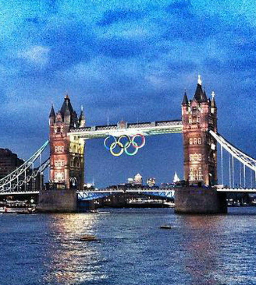 London 2012: Stunning mobile uploads from the Summer Olympics: #tower #bridge #olympics #london --@canaks