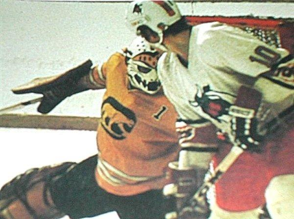 <p>Active: 1972 - 1975</p> <p>League: World Hockey Association</p>  <p>Ernest says: The Cougars! The predecessor to the Chicago Wolves, this team had gradual success, making it to the championship game in their second year taking on Gordie Howe and the Houston Aeros.</p>