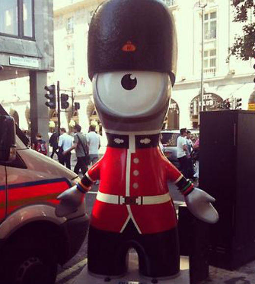 London 2012: Stunning mobile uploads from the Summer Olympics: London 2012 #olympics #london #mascot --@hannah_kelly14