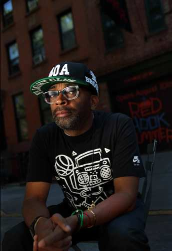"""Spike Lee, photographed in Brooklyn, N.Y., has a movie coming out called """"Red Hook Summer."""""""