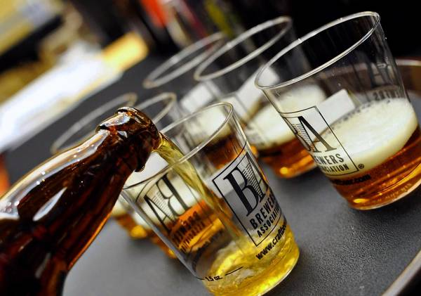 Brewers will pour tastings of their brews at the Great American Beer Festival in the Colorado Convention Center in Denver.