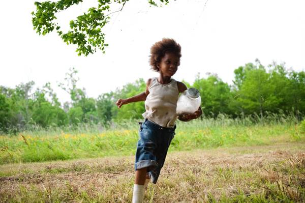 "Quvenzhane Wallis stars as ""Hushpuppy"" in ""Beasts of the Southern Wild."""