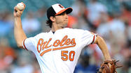 Orioles right-hander Miguel Gonzalez allowed five runs in the first – and seven runs total – in 2 2/3 innings Wednesday night against the Rays.
