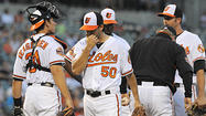 Orioles struggle from the first pitch in 10-1 loss to Rays