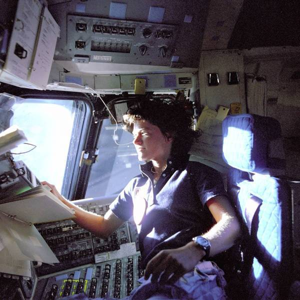 Astronaut Sally Ride, the first U.S. woman in space, said in a statement prepared before she died that she had a long-standing relationship with a woman.