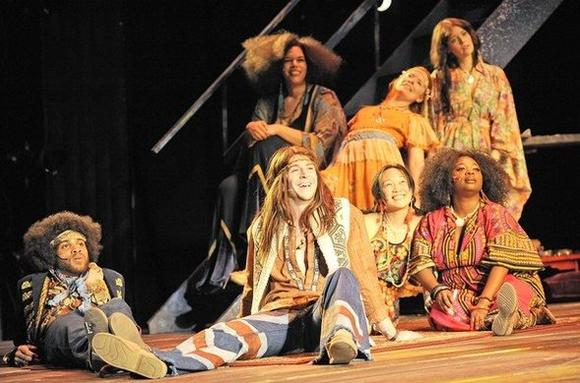 """Hair"" is at the Paramount Theatre in downtown Aurora."