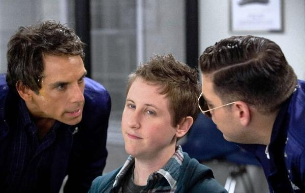 "Ben Stiller and Jonah Hill star in ""The Watch."""