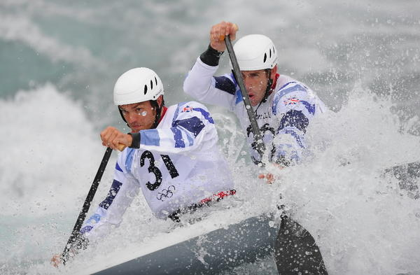 This is what Canoe Slalom looks like.