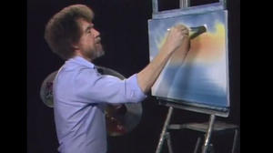 Viral Video: Bob Ross Remixed, Happy Little Clouds