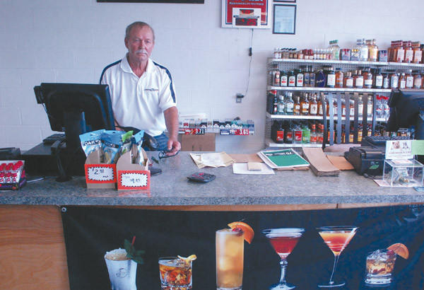 Jackie Antle recently opened the first liquor store in Junction City in the location where he operated a grocery store for 35 years.