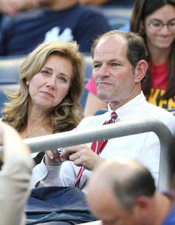Hollywood's cheating hearts: New York Governor Eliot Spitzer cheated on his wife Silda for years with very expensive call girls (over $80,000), including one named Ashley Dupre.