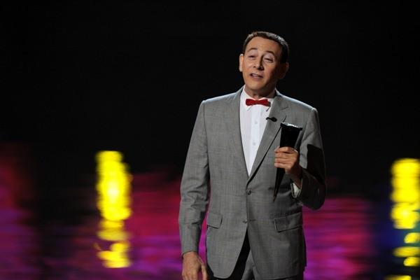 "Pee-wee Herman, a.k.a. Paul Reubens, was arrested in Sarasota, Fla., for masturbating publicly in an adult theater. In his first public appearance after his arrest, on the MTV Video Music Awards, Pee-wee famously said ""Heard any good jokes lately?"" Yeah, and they are all about Fred Willard."