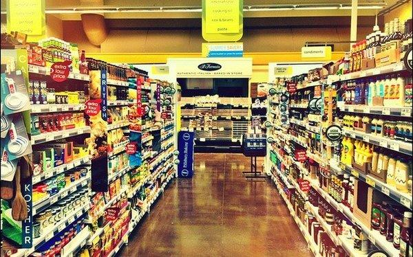 A New York grocery store has reserved an aisle just for men.