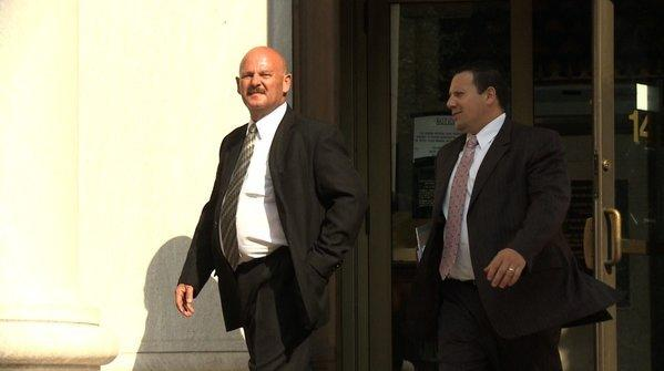 Tuesday, federal prosecutors sought secretly to have Harry Raymond Soucy, 60, of Naugatuck, arrested and presented in federal court in New Haven, where he pleaded guilty to one count of devising a scheme to bribe a public official and one count of conspiring to make false statements to the Federal Election Commission and to impede the commission's enforcement of federal campaign finance laws.