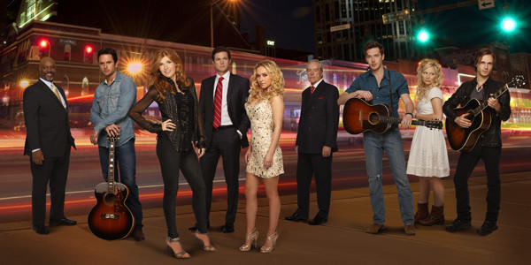 "ABC's ""Nashville"" will premiere Oct. 10. The cast includes Robert Wisdom (from left), Charles Esten, Connie Britton, Eric Close, Hayden Panettiere, Powers Boothe, Sam Palladio, Clare Bowen and Jonathan Jackson."