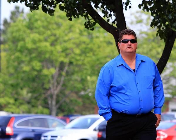 Sexual assault defendant Raymond Kasper arrives Wednesday at court in Woodstock.