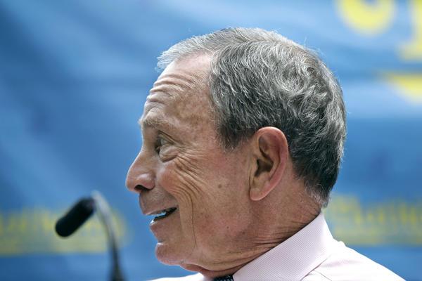 New York Mayor Michael Bloomberg has endorsed Sen. Scott Brown of Massachusetts over Democratic challenger Elizabeth Warren.