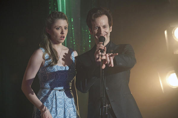 "Before becoming widely known for his role of Russell Edgington on HBO's ""True Blood"" (above, with Annie Abrams), Denis O'Hare went to Northwestern University and was an award-winning Chicago theater actor. He starred in the first season of FX's ""American Horror Story,"" too."
