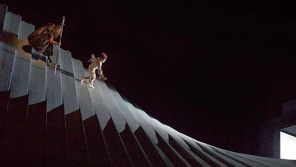 The Metropolitan Opera commissioned director Robert Lepage to stage a production of opera's most formidable masterpiece: Richard Wagner's four-part Ring Cycle.