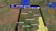 A severe thunderstorm watch for Southern Indiana has expired.