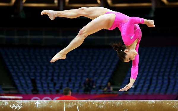 Jordyn Wieber, the 2011 world all-around champion in gymnastics, will be a strong competitor for the all-round category in London. She could also medal on the balance beam.