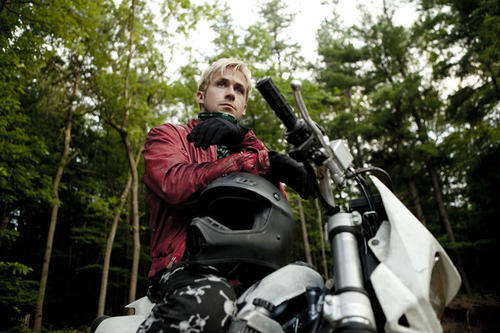 "Having demonstrated tough-guy bona fides and an icy command of motor vehicles in last year's ""Drive,"" Ryan Gosling now stars as a motorcycle stuntman who turns to crime to provide for his young family, pitting him against an ambitious police officer, played by Bradley Cooper. Director Derek Cianfrance also worked with Gosling in ""Blue Valentine."""