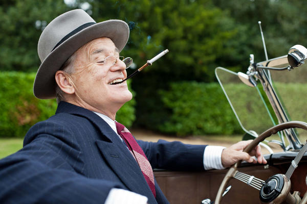 Oscar-bait alert! Bill Murray portrays Franklin Delano Roosevelt in this period drama set in 1939, when the president and wife Eleanor (Olivia Williams) hosted the king and queen of England (Samuel West and Olivia Colman) at their home in upstate New York -- the first visit of a reigning English monarch to the U.S.