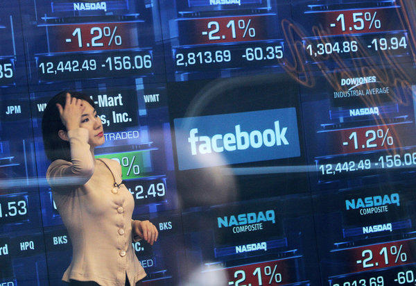 Facebook disappointed investors in May with its IPO. The anguish continued Thursday with the firm's first earnings report, which drove down the stock.