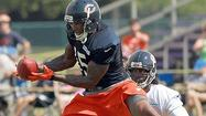 BOURBONNAIS — The savior receiver had a couple of drops on the first day of camp.