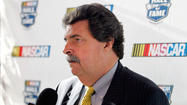 NASCAR president will keep test details private