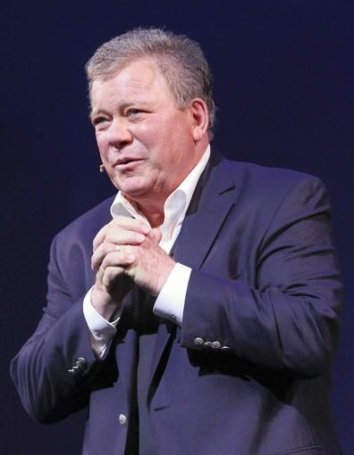 """Shatner's World: We Just Live In It""  at the Music Box Theatre in New York."
