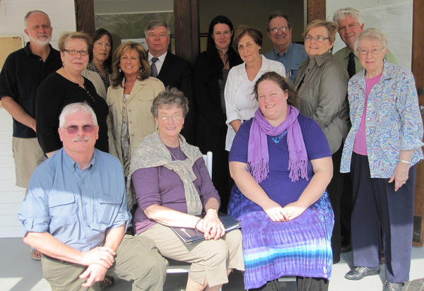 Emmet Charlevoix Cultural Alliance members include (front row, from left) William Aten, Aten Place; Jean Fought, Little Traverse Choral Society; Rebecca Otto, Blissfest; (middle row) Nancy Koski, Great Lakes Chamber Orchestra; Jann Morris, Little Traverse Fine Arts Initiative; Betty Boaz, Charlevoix Circle of the Arts; Nancy Suzor, Charlevoix Circle of the Arts; Meredith Richter, Northern Michigan Chorale; (back row) Robert Morris, Little Traverse Fine Arts Initiative; Anne L. McDevitt, C.S. Lewis Festival, Inc.; John Stakoe, Bay View Association; Cindy McSurley, Crooked Tree Arts Center; Dale Hull, Petoskey District Library; and David R. Hill, Concord Academy Petoskey.