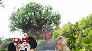 Carrie Underwood, Mike Fisher at Animal Kingdom