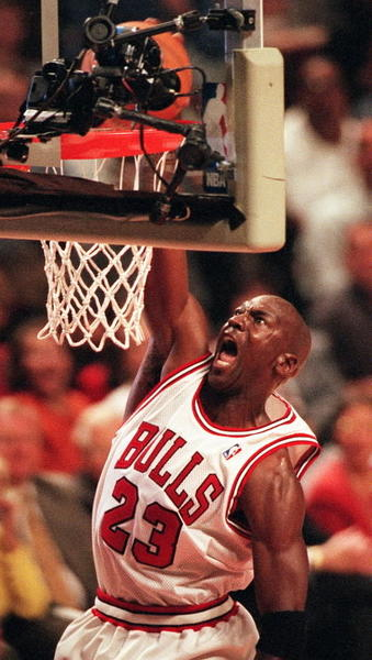 Chicago Bulls favorite Michael Jordan played on two Olympic gold medal-winning American basketball teams in 1984 and 1992.   Today, he is the majority owner and head of operations for the NBA's Charlotte Bobcats.