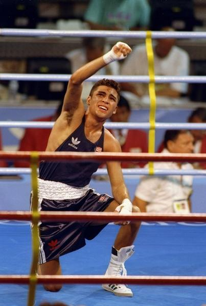 "He was a surprise gold medal winner in the 1992 Olympics, then became one of the most popular pro boxers in recent memory. ""The Golden Boy"" won titles in six different weight classes before retiring in 2009. Last year, he reportedly entered Betty Ford Center in Rancho Mirage, Calif., for alcoholism."
