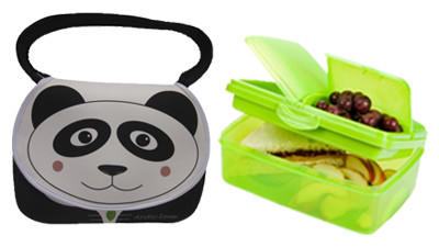 Cool and convenient lunch bags and containers