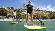 Man About Town: Gliding along on a stand-up paddleboard