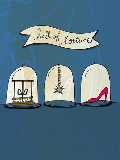 Shoe torture