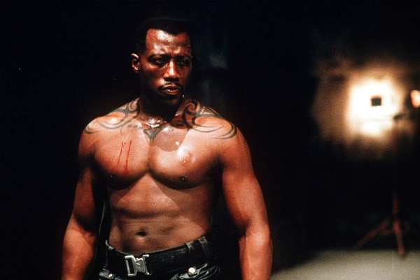 "And speaking of Snipes, here he is in the original ""Blade."""
