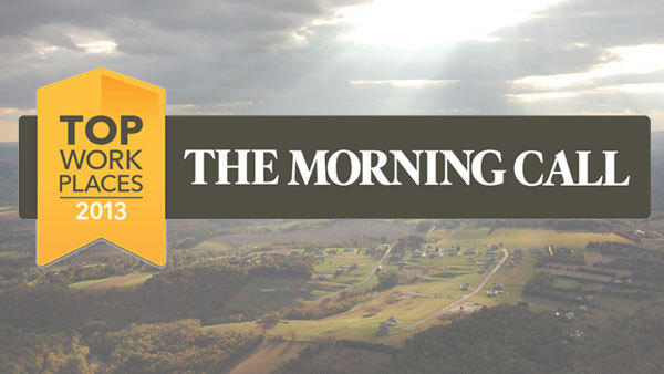 Who do you think is the top workplace in the Lehigh Valley? Nominate your choice now at themorningcall.com/topworkplaces.